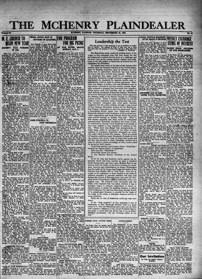 McHenry Plaindealer (McHenry, IL), 29 Sep 1932
