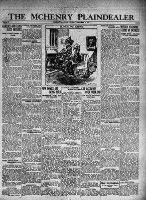 McHenry Plaindealer (McHenry, IL), 13 Oct 1932