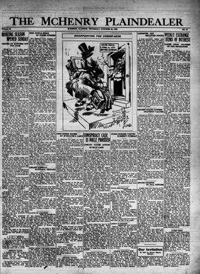 McHenry Plaindealer (McHenry, IL), 20 Oct 1932