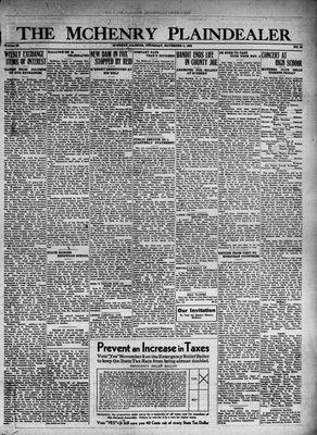 McHenry Plaindealer (McHenry, IL), 3 Nov 1932