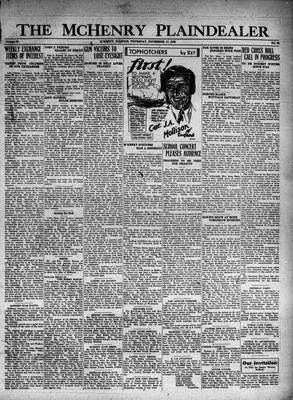 McHenry Plaindealer (McHenry, IL), 17 Nov 1932
