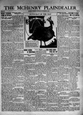 McHenry Plaindealer (McHenry, IL), 24 Nov 1932