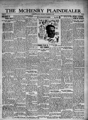 McHenry Plaindealer (McHenry, IL), 15 Dec 1932
