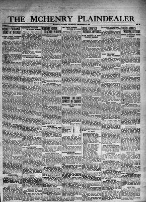 McHenry Plaindealer (McHenry, IL), 29 Dec 1932