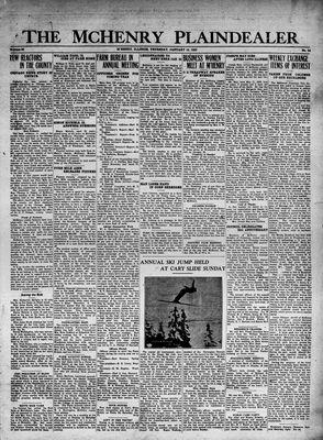 McHenry Plaindealer (McHenry, IL), 19 Jan 1933
