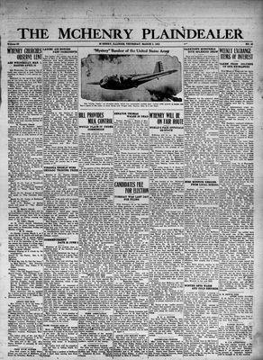 McHenry Plaindealer (McHenry, IL), 2 Mar 1933