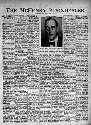 McHenry Plaindealer (McHenry, IL), 9 Mar 1933