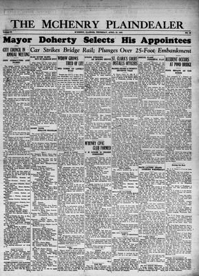 McHenry Plaindealer (McHenry, IL), 27 Apr 1933