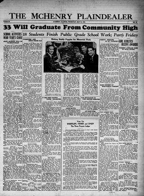 McHenry Plaindealer (McHenry, IL), 25 May 1933