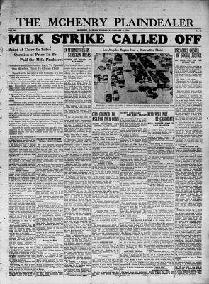 McHenry Plaindealer (McHenry, IL), 11 Jan 1934