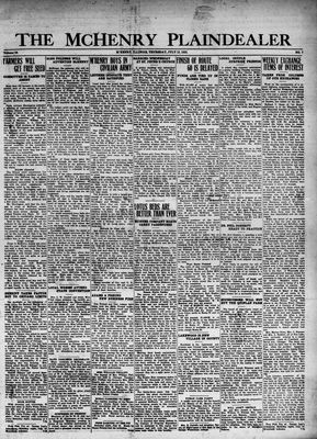 McHenry Plaindealer (McHenry, IL), 13 Jul 1933