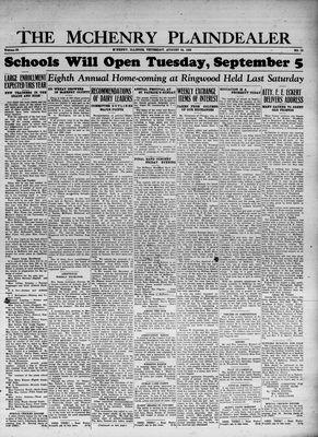 McHenry Plaindealer (McHenry, IL), 24 Aug 1933