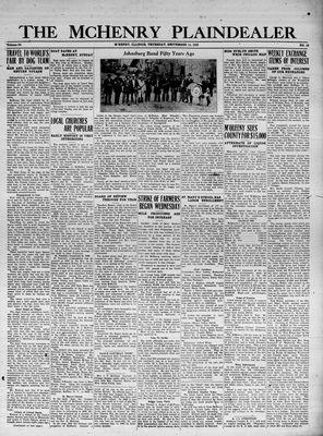 McHenry Plaindealer (McHenry, IL), 14 Sep 1933