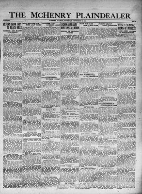 McHenry Plaindealer (McHenry, IL), 28 Sep 1933