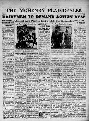 McHenry Plaindealer (McHenry, IL), 12 Oct 1933