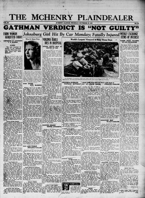McHenry Plaindealer (McHenry, IL), 16 Nov 1933