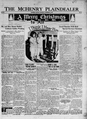 McHenry Plaindealer (McHenry, IL), 21 Dec 1933