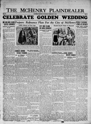 McHenry Plaindealer (McHenry, IL), 8 Feb 1934