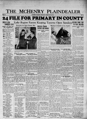 McHenry Plaindealer (McHenry, IL), 22 Feb 1934