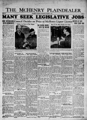 McHenry Plaindealer (McHenry, IL), 1 Mar 1934