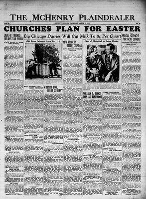 McHenry Plaindealer (McHenry, IL), 29 Mar 1934