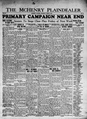 McHenry Plaindealer (McHenry, IL), 5 Apr 1934