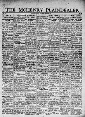 McHenry Plaindealer (McHenry, IL), 26 Apr 1934