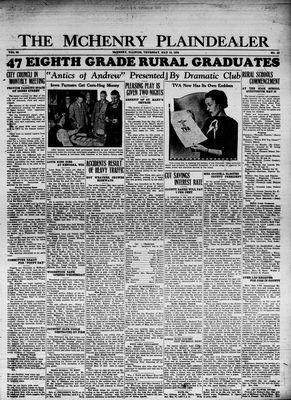 McHenry Plaindealer (McHenry, IL), 10 May 1934