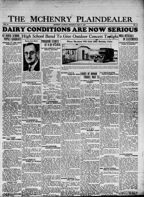 McHenry Plaindealer (McHenry, IL), 17 May 1934