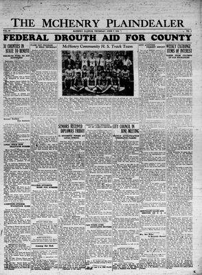 McHenry Plaindealer (McHenry, IL), 7 Jun 1934