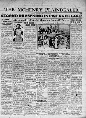 McHenry Plaindealer (McHenry, IL), 5 Jul 1934