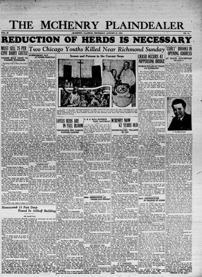 McHenry Plaindealer (McHenry, IL), 16 Aug 1934