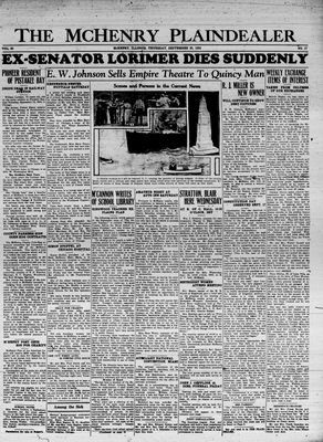 McHenry Plaindealer (McHenry, IL), 20 Sep 1934