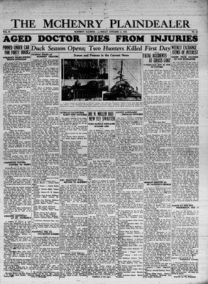 McHenry Plaindealer (McHenry, IL), 11 Oct 1934