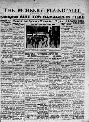McHenry Plaindealer (McHenry, IL), 18 Oct 1934