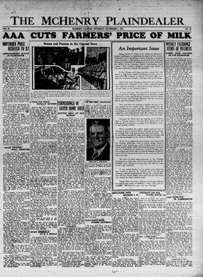 McHenry Plaindealer (McHenry, IL), 1 Nov 1934