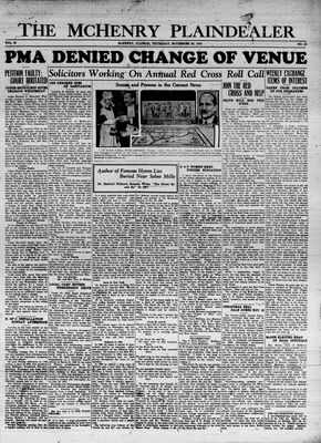 McHenry Plaindealer (McHenry, IL), 22 Nov 1934