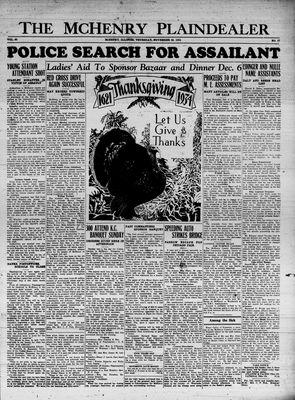 McHenry Plaindealer (McHenry, IL), 29 Nov 1934