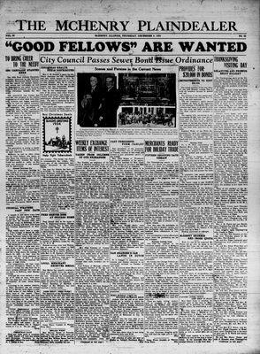 McHenry Plaindealer (McHenry, IL), 6 Dec 1934