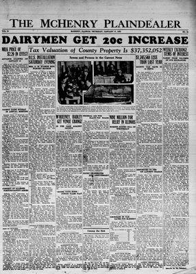 McHenry Plaindealer (McHenry, IL), 17 Jan 1935