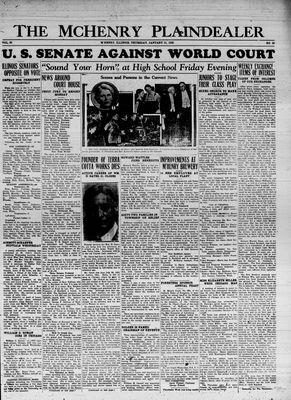 McHenry Plaindealer (McHenry, IL), 31 Jan 1935
