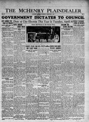 McHenry Plaindealer (McHenry, IL), 7 Feb 1935