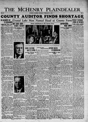 McHenry Plaindealer (McHenry, IL), 14 Feb 1935