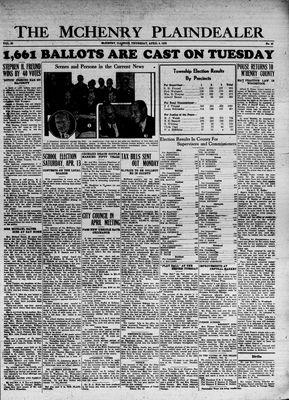 McHenry Plaindealer (McHenry, IL), 4 Apr 1935