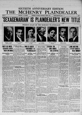 McHenry Plaindealer (McHenry, IL), 6 Jun 1935