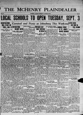 McHenry Plaindealer (McHenry, IL), 22 Aug 1935