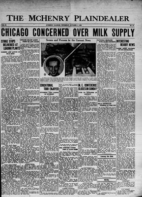 McHenry Plaindealer (McHenry, IL), 3 Oct 1935