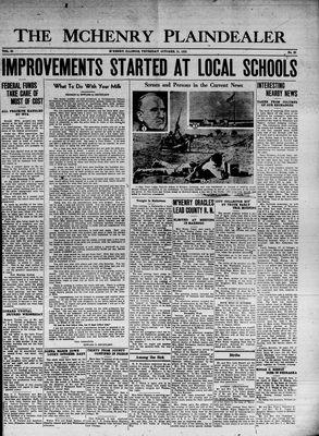 McHenry Plaindealer (McHenry, IL), 31 Oct 1935
