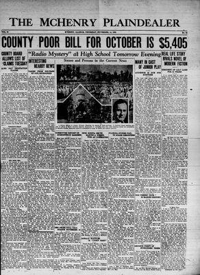 McHenry Plaindealer (McHenry, IL), 14 Nov 1935