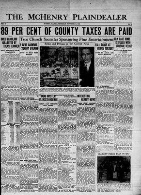 McHenry Plaindealer (McHenry, IL), 21 Nov 1935